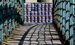 Over the Bridge (robmcrorie) Tags: burton trent brewery barrels nikon d850