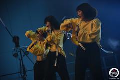 J☆Dee'Z (7716galaxy) Tags: j☆deez jpop japanese japan pop girls girlband music dance dancing peace smile yellow blue concert live anime animesse berlin potsdam metropolishalle babelsberg