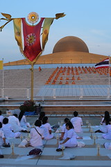 "Wat dhammakaya (g e r a r d v o n k เจอราร์ด) Tags: artcityart art asia asia"" asian architecture architectuur buddha canon city colour canon5d3 dhammakaya expression eos earthasia flickrsbest fantastic flickraward golden lifestyle land monk ngc newacademy outdoor orange totallythailand photos pinnaclephotography people reflection red stad this travel thailand thai tempel temple unlimited uit urban whereisthis where wat yabbadabbadoo"