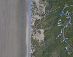 #98 Coastal Residence (Timster1973 - thanks for the 15 million views!) Tags: mavic drone uav quadcopter dji mavicprodrone djimavicpro fly up uphigh droneflying tim knifton timster1973 timknifton explore exploration perspective lookdown lookingdown color colour exterior external coast coastal land landscape sea beach beachscape outdoor outdoors composition caravan residential residence holiday