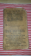 1800s 1900s Grocers Accounting Book for sale (Paper on Steroids) Tags: antique groceriesgrocers accounting book customers keep track their purchases other pics writing dates sale etsy shop