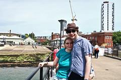 Portsmouth Dockyard (aka Crane on head shot!!) (Jainbow) Tags: portsmouth naval base dockyard jainbow