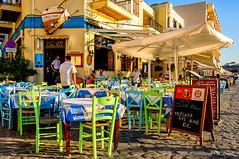 Chania, Crete (Kevin R Thornton) Tags: d90 taverna crete travel street people city greece mediterranean architecture chania nikon creteregion gr