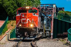 CN at Augusta, GA (i nikon) Tags: cn canadian national augusta ga savannah river bridge