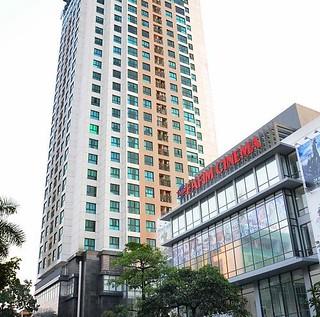 Cho thuê chung cư fafilm – vnt tower, 19 nguyễn trãi, 2 phòng ngủ, đồ cơ bản, giá 10 triệu