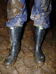 tumblr_nmi5ibRsBt1usv24lo7_1280 (gumenaobuca) Tags: farmer fisherman waders rubber gumofilce gumovce fagum stomil rolnik bauer paysan boots stable farm manure worker coverall gasmask