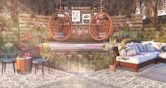 Ever Be (kyreneglendevon) Tags: ariskea camimahovlick colleen desmoulins aria loft dahlia bamien omen eli baily june fallon kimbra iridescent granola second life secondlife sl secondlifeblogges secondlifeblog slblog blog blogger mesh landscape home garden