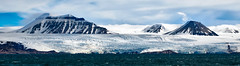 Nunataks (dougbank) Tags: geology glacier ice island snow clouds outdoors outside landscapes landscape horizontal svalbard spitsbergen norway arctic north panorama mountains mountain hdr aurorahdr