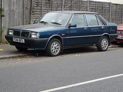 1989 Lancia Prisma Symbol (Neil's classics) Tags: vehicle 1989 lancia prisma symbol