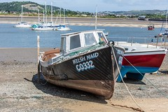 Welsh Maid, Low Tide, Conwy (aniceglassofred) Tags: conwy wales nikon d810 holiday sea low tide welsh maid summer