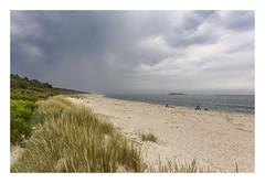 The beauty of bad weather. (Anscheinend) Tags: storm gewitter clouds rain rainy sea ocean beach lido praia playa strand sand dünen portugal moledo mar mare meer