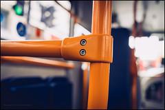 Hold very tight please (G. Postlethwaite esq.) Tags: dof london macro sonya7mkii bokeh bus closeup depthoffield fullframe handrail mirrorless photoborder selectivefocus trafficlights