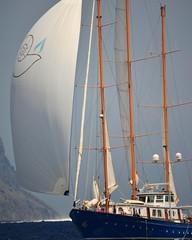 GrEEcE  is... (sifis) Tags: greece blue sailling island port regatta spetses
