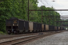 Coal on the Trenton Subdivision (Dan A. Davis) Tags: csx coal coaltrain freighttrain railroad pa pennsylvania langhorne