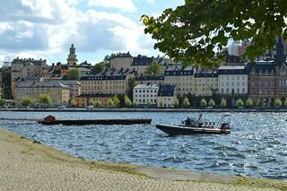 Stoccolma, veduta da Riddarholmen verso il Riddarfjärden e Söder Mälarstrand