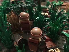 Good Guys (Yappen All Day Long) Tags: lego custom marines army military scene wip moc afol brickarms eclipsegrafx