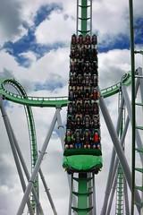 Hulk Smash! (christopher.czlapka) Tags: sun fun summer green photography loop fast action rollercoaster photo flickr orlando florida universalstudios universal hulk