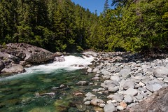 Beside Pristine Waters, Kennedy River (MIKOFOX ⌘ Thanks 4 Your Faves!) Tags: canada river britishcolumbia falls xt2 water rcks vancouverisland learnfromexif july forest landscape provia boulders rapids fujifilmxt2 mikofox showyourexif summer xf18135mmf3556rlmoiswr
