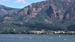DSC03010 (2) Kite Boarding (Allen Woosley) Tags: kite boarding crgnsa columbia river skamania county washington parafoils