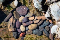 Rock Pool Pebbles (PedroLanders) Tags: marloes wales beach rocks rockpool martinshaven