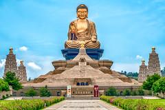 Fo Guang Shan (tehhanlin) Tags: taiwan kaohsiung foguangshan sony sonysg sonysingapore a7rm2 fe100400gm photography bluesky temple buddhist statue monastery asia ngc 佛光山 dashu monastic religious blia hsingyun fourgreatmountains fourheavenlykings amitabha
