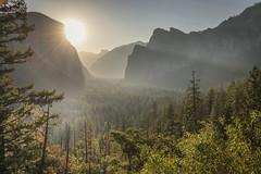 Gently Fade In (jaud.nicolas) Tags: californie yosemitenationalpark california yosemite tunnelview sunrise sun mountains canon5dmarkiv canon1635mmf4is landscape paysage