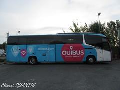 IRIZAR i6S - 3393 - Sarfa (Clément Quantin) Tags: car autocar tourisme ligne interurbain irizar irizarintegral i6s integral 1337 3393 3687kks sarfa ouibus sncf