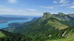 Lac d'Annecy et Lanfonnet (ViveLaMontagne67) Tags: france alpes alpen alps savoie savoy tournette annecy lanfonnet montagne lac vert green lake mountains landscape sky verdoyant bornes