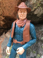 Cowboy Mike (atjoe1972) Tags: johnnywest bestofthewest marx toys cowboy oldwest frontier wildwest hat boots botw actionfigure custom 1960s sixties vintage retro sixshooter spy secretagent coldwar atjoe1972 mikehazard