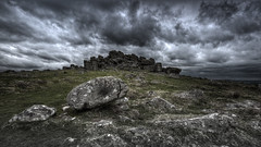Hound Tor (Nickerzzzzz - Thanks for stopping by :)) Tags: ©nickudy nickerzzzzz theartofphotography wwwdigittaliacom canon5d3 ef1635mmf4lisusm sky colour photograph landscape houndtor rocks dartmoornationalpark dartmoor granite storm clouds england uk