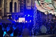 Passau: Nacht der Musik auf dem Residenzplatz - Night of Music on the Residenzplatz (cammino5) Tags: passau juni 2018 donausteig bayern deutschland musikfest nachtaufnahme