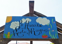 La Huerta Roots & Rays (Brule Laker) Tags: chicago illinois gardens pilsen caf chicagoarchitecturefoundations walkpilsen communitygardens