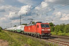 DBC 185 150 en 51226 van Seelze naar Gremberg. Lintorf (Hans Wiskerke) Tags: ratingen nordrheinwestfalen duitsland de