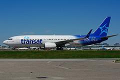 C-GTQC (Air Transat) (Steelhead 2010) Tags: b737800 yyz boeing b737 airtransat creg cgtqc