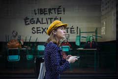 Liberte' (photomg204 instagram) Tags: ny newyork nyc manhattan usa people photography street streetphotography color city