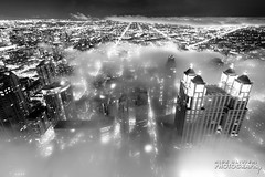 (6.18.18)-360_Fog-WEB-5 (ChiPhotoGuy) Tags: chicago architecture skyline cityscape clouds cloudporn fog foggy chasingfog weather night dusk bluehour observatory moody