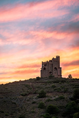 castle in the sky (theclashcityrocker) Tags: castle malaga sunset spain andalucia alhaurin fuji fujixt2