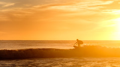 Golden Days of Winter (ajecaldwell11) Tags: sunrise ankh dawn surf xe2 orange light tide newzealand silhouette fujifilm sea surfer teawanga sky clouds hawkesbay caldwell waves water