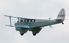 Dragon Rapide (Bernie Condon) Tags: uk british shuttleworth collection oldwarden airfield airshow display aviation aircraft plane flying navyday june june2018 dehavilland dh dragonrapide airliner transport cargo passenger biplane vintage preserved classic 1930s raf civil military