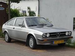 1978 Alfa Romeo Alfasud Sprint (harry_nl) Tags: netherlands nederland 2018 everdingen alfaromeo alfasud sprint 39ug00 sidecode3 acar