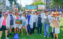 2018.06.30 WhiteCoats4FamiliesBelongTogether, Washington, DC USA 04249