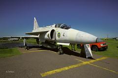 IMGP5098@L6 (Logan-26) Tags: saab ja37di viggen 37429 cn sweden air force historical tartu estonian aviation museum estonia days 2015 aleksandrs čubikins airshow