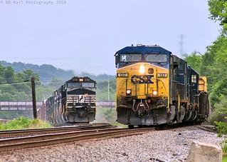 CSX Q675-12 at Chattanooga, TN
