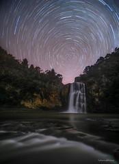 Hunua Trails (hakannedjat) Tags: hunuafalls nzmustdo nzmustsee nzwaterfalls waterfall sony sonynz sonya7rii a7rii zeiss newzealand nz nightsky astro astrophotography astroscape