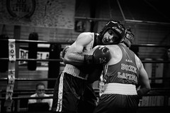 32817 - Break (Diego Rosato) Tags: boxe boxelatina boxing pugilato nikon d700 2470mm tamron rawtherapee bianconero blackwhite ring match incontro break