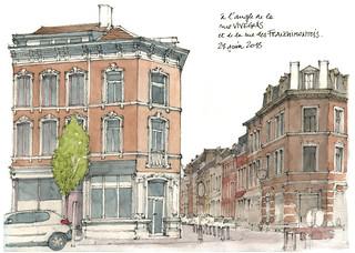Liège, rue Vivegnis