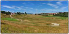 Gjerdrum golfbane (Krogen) Tags: norge norway norwegen akershus romerike gjerdrum krogen fujifilmx100 panorama imagecompositeeditor