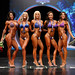 Bikini Open F 4th Shibeko 2nd Korek 1st Davidson 3rd Scott 5th Sharpe