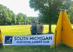 South Michigan Schutzhund & Police Club Trial (Falon167) Tags: schutzhund trial ipo claire luke