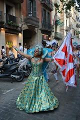Carnaval de verano Unidos de Barcelona (Cíclope0) Tags: carnaval carnival carnevale calle street retrato portrait